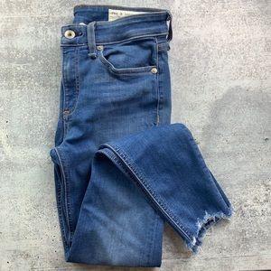 RAG & BONE Cate Ankle Skinny Jeans Flint 24 EUC